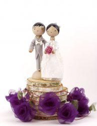 Poupée Mariage Mrs & Mr Purple